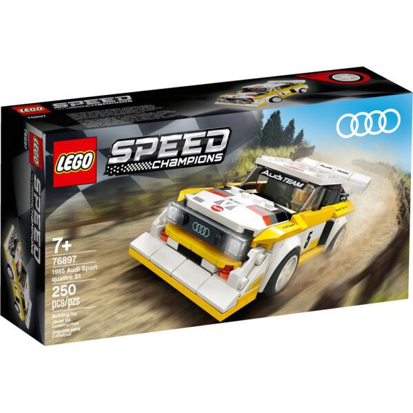 Купить Конструкторы, LEGO Speed Champions 1985 Audi Sport quattro S1 (76897)