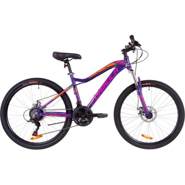 Купить Велосипеды, 26 Formula MYSTIQUE 1.0 AM 14G DD 16 фиолетово-оранжевый 2019