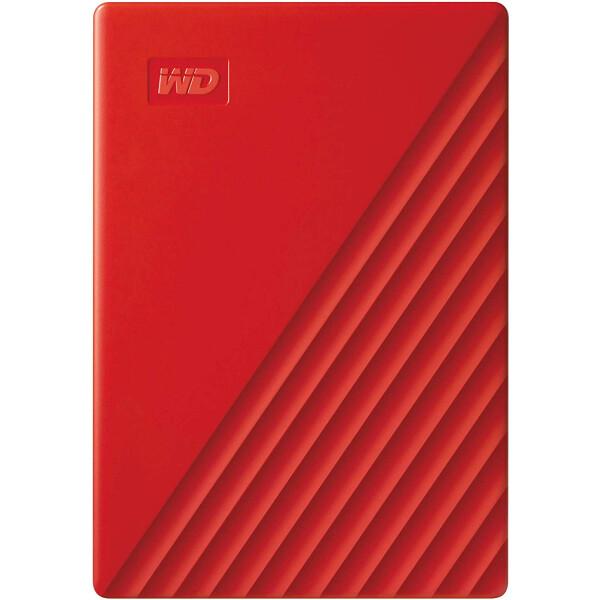 Купить Внешние жесткие диски, Western Digital My Passport 2TB WDBYVG0020BRD-WESN 2.5 USB 3.0 Red