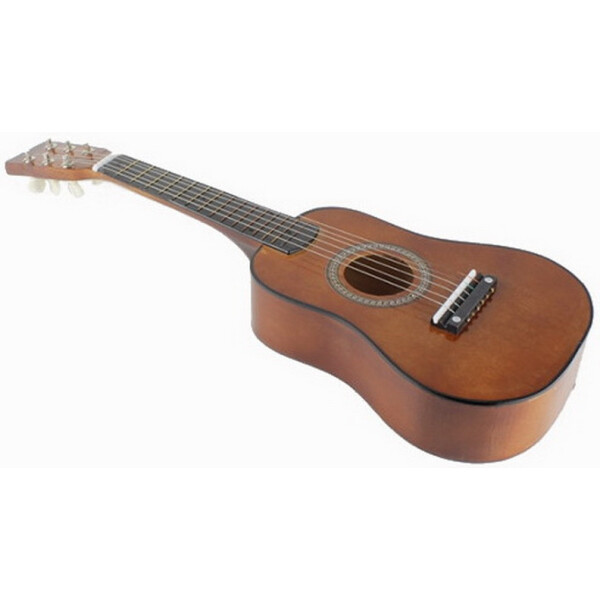Купить Детские музыкальные инструменты, Гитара детская M 1369 Деревянная (Коричневый), Metr Plus