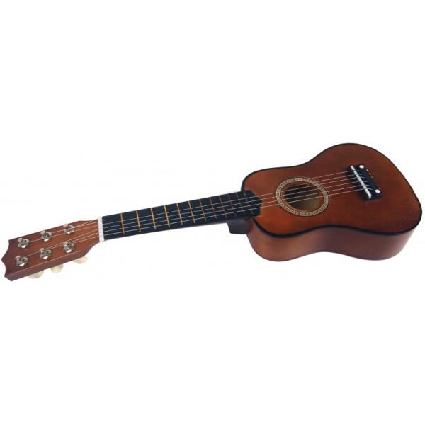 Купить Детские музыкальные инструменты, Гитара M 1370 Деревянная (Коричневый), Metr Plus