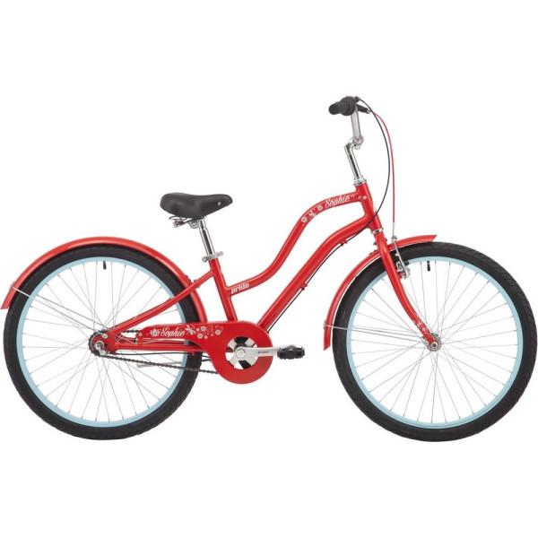 Купить Велосипеды, 24' Pride SOPHIE 4.2 красный 2018 (SKD-17-55)