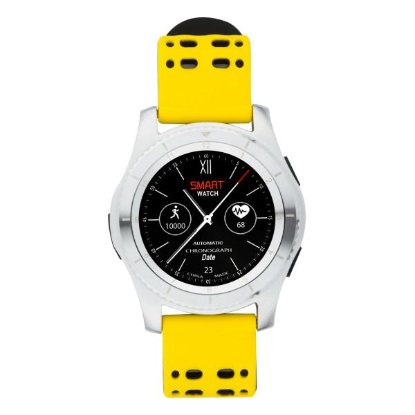 ATRIX Smart watch X4 GPS PRO silver-yellow