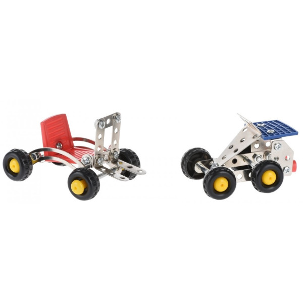 Купить Конструкторы, Конструктор металлический Same Toy Inteligent DIY Model Car 2 (58039Ut)
