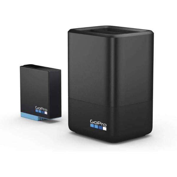 Купить Аксессуары к экшн-камерам, GoPro Dual Battery Charger + Battery Black (AJDBD-001-EU)
