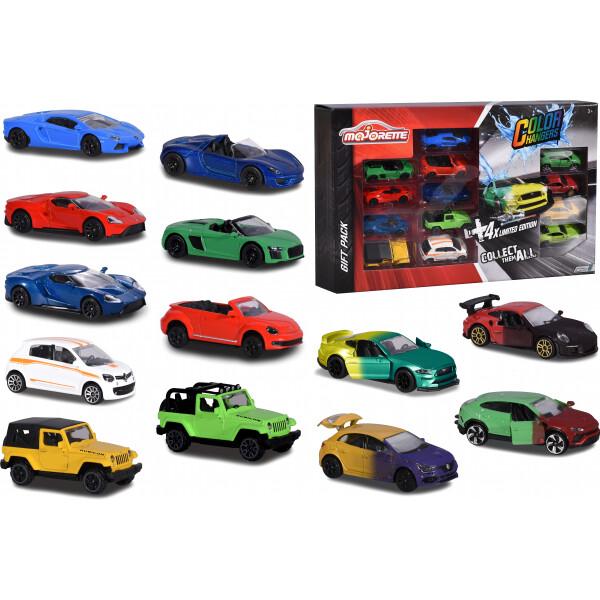 Купить Машинки, техника игровая, Набор машинок металлических Majorette Стрит и Лимитированная серия. Изменение цвета(2054023)