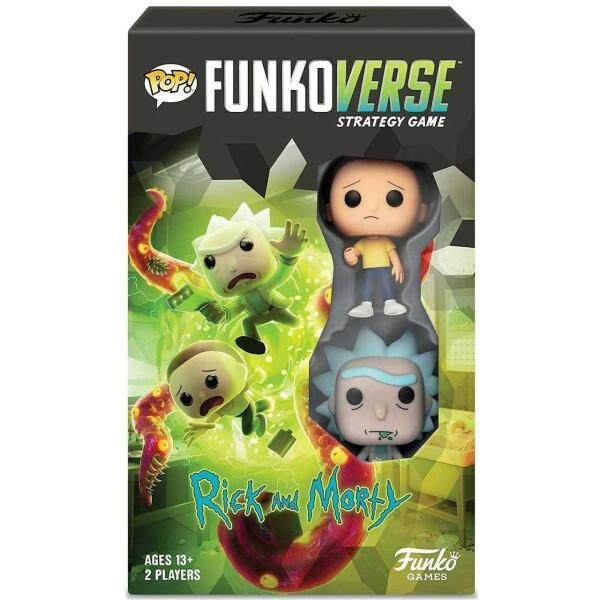 Настольная игра Рик и Морти Funkoverse Strategy Game Rick and Morty 101 Expandalone game Funkoverse RM