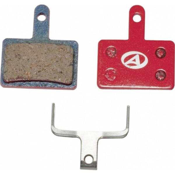 Купить Тормозные колодки для велосипеда, тормозные дисковые колодки ABS-23 Shi B01, полимер, красные (24504202), Author