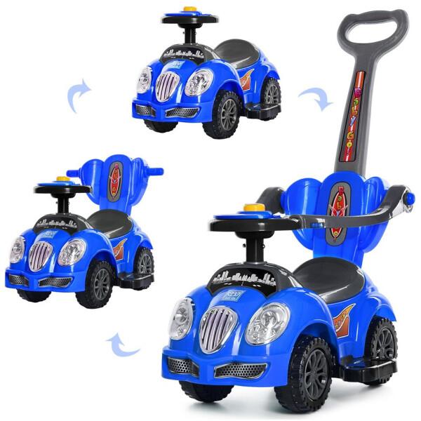 Купить Детские качалки, каталки, Каталка-толокар Bambi M 4072-4 Blue (M 4072)