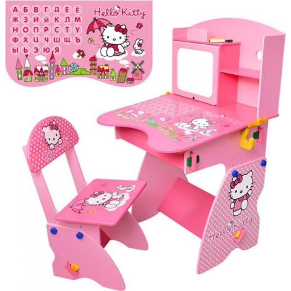 Купить Детские письменные столы, парты, Парта Bambi M0324 Хелло Китти