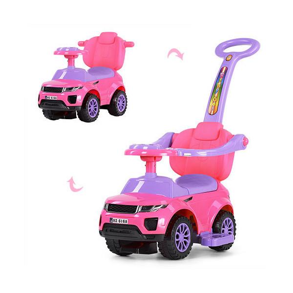 Купить Детские качалки, каталки, Каталка-толокар Bambi HZ614W-8 Розовый