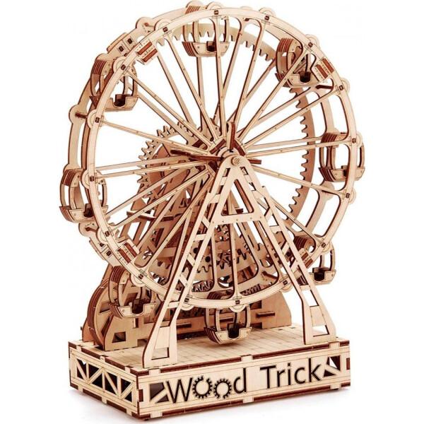 Механическое колесо обозрения, механический 3D-пазл, Wood Trick