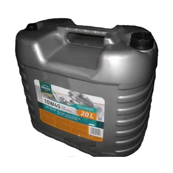 Купить Моторные масла, BREXOL TECHNO 10W40 SL / CF (20л)