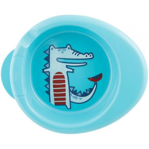 Термостойкая тарелка Chicco от 6 месяцев (мальчик) (16000.2)