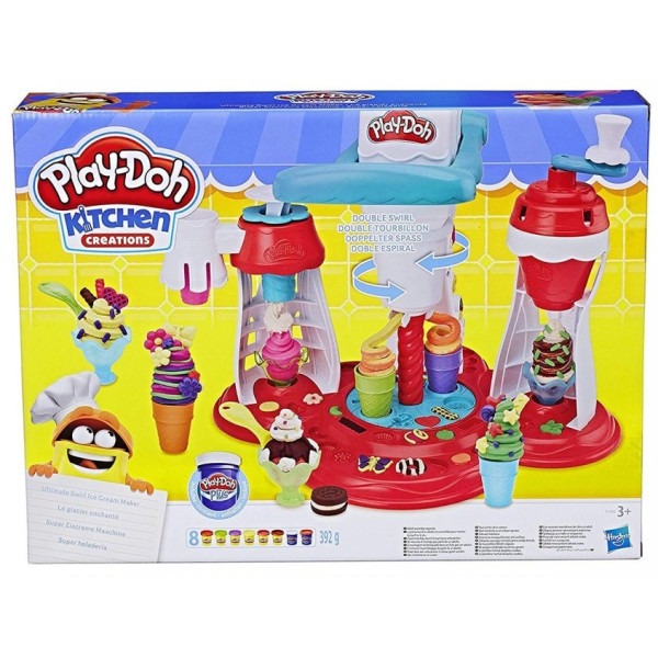 Набор  для лепки Hasbro Play-Doh Мир мороженого (E1935)