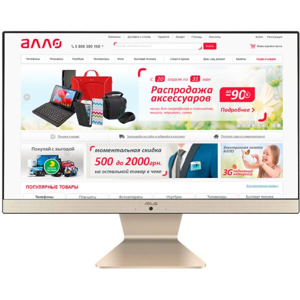 Купить Моноблоки, ASUS V222UAK-BA160D 21.5 (90PT0261-M08440)