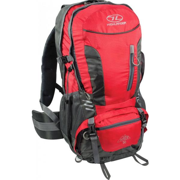 Купить Рюкзаки, туристический Highlander Hiker 40 Red (925863)