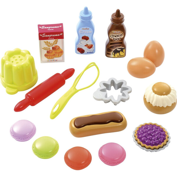Набор продуктов в сетке Вкусный десерт Ecoiffier (000952)
