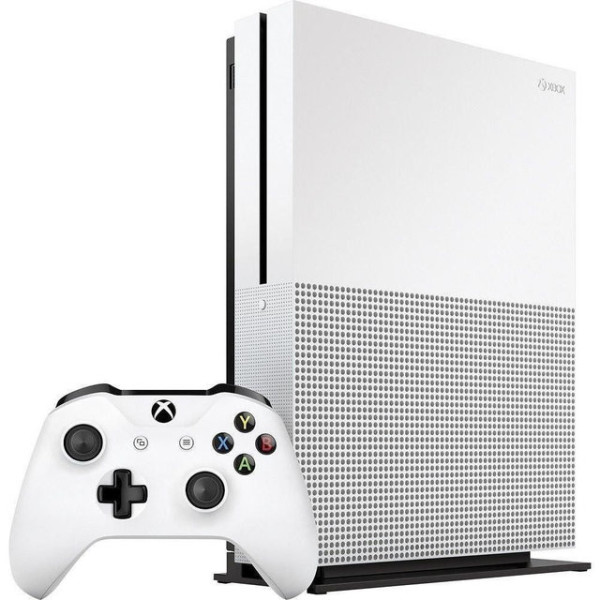 Купить Игровые консоли, Microsoft Xbox One S White 1TB + Доп джойстик