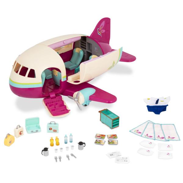 Купить Игровые наборы, Игровой набор LIL WOODZEEZ Самолет (61533Z)