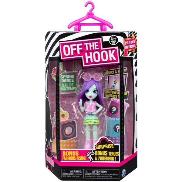 Купить Куклы, наборы для кукол, Кукла с аксессуарами Spin Master Off the Hook Весеннее диско Бруклин сюрприз (SM74300/0113)
