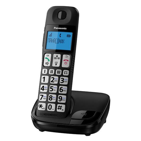Купить Радиотелефоны, Panasonic KX-TGE110UCB Black