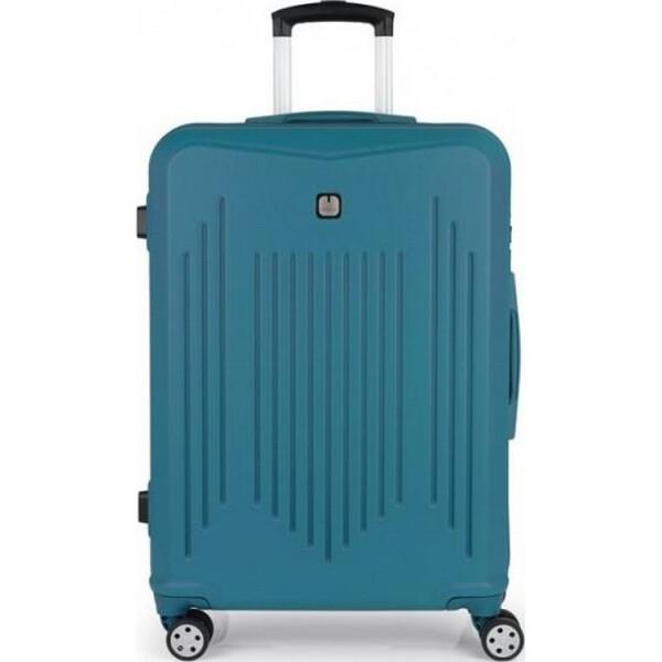 Чемоданы, Gabol Clever (M) Turquoise (927004)  - купить со скидкой