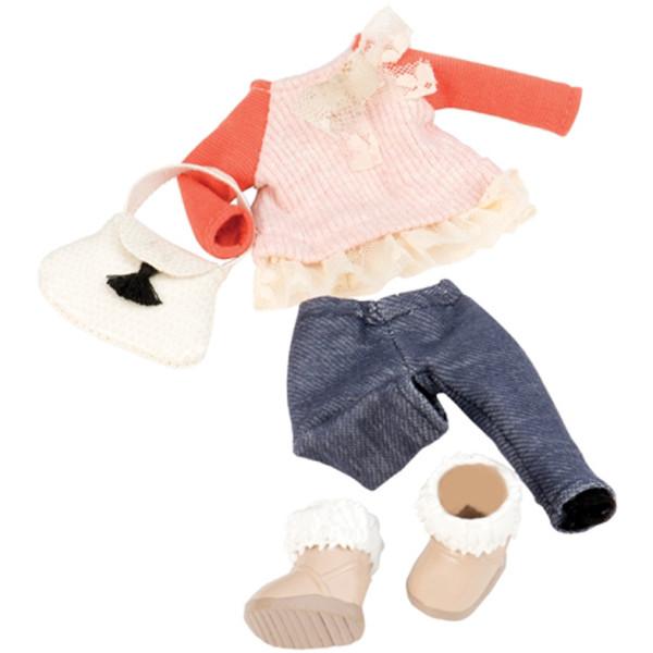 Купить Куклы, наборы для кукол, Набор одежды для кукол LORI с кружевами (LO30002Z)