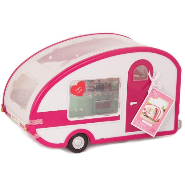 Купить Куклы, наборы для кукол, Транспорт для кукол LORI Кемпинг (LO37011Z)