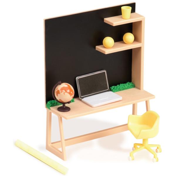 Купить Куклы, наборы для кукол, Набор для кукол LORI Мебель для домашнего рабочего стола (LO37006Z)