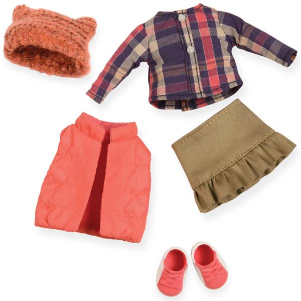 Купить Куклы, наборы для кукол, Набор одежды для кукол LORI пуховой жилет (LO30004Z)