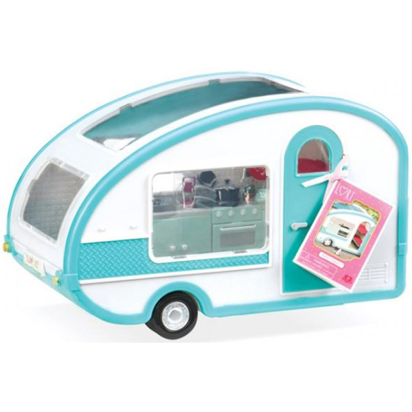 Купить Куклы, наборы для кукол, Транспорт для кукол LORI Кемпер на колесах (LO37001)