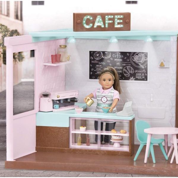 Купить Куклы, наборы для кукол, Игровой набор LORI Кафе (LO37037Z)