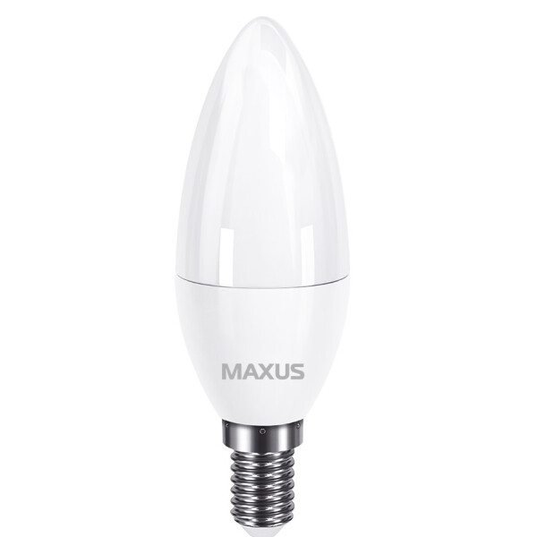 Купить Лампочки, Лампа светодиодная C37 8W 4100K 220V E14 (1-LED-736), Maxus