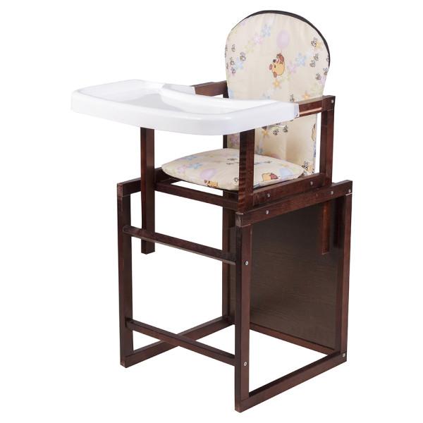 Купить Стульчики для кормления, Стульчик-трансформер Babyroom Пони-220 тонированный пластиковая столешница бежевый (винни пух)