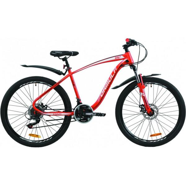 Купить Велосипеды, 26 Formula KOZAK DD 17, 5 красный 2020
