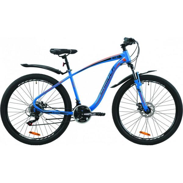 Купить Велосипеды, 27.5 Formula KOZAK DD 17, 5 сине-оранжевый 2020