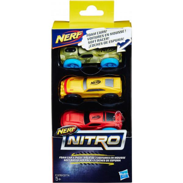 Набор машинок для бластера Hasbro Nref Nitro (C0774-E1235)