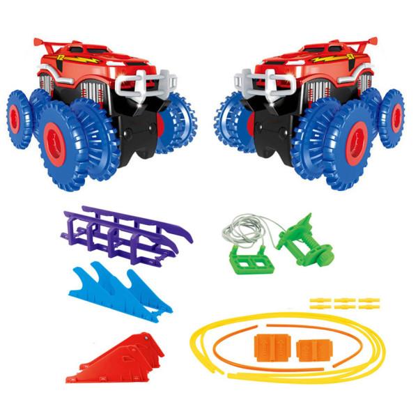 Игровые наборы, Игровой набор Trix Trux Monster Truk Канатный детский трек Монстер трак (BB883)  - купить со скидкой
