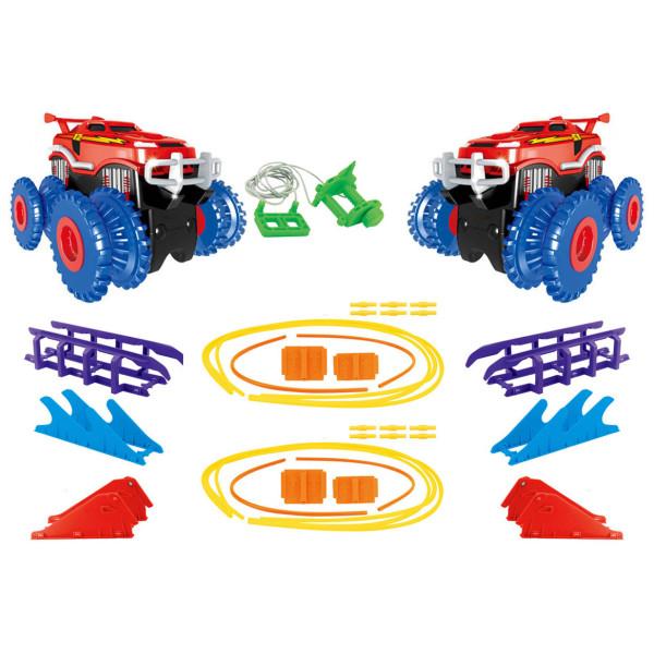Купить Игровые наборы, Игровой набор Trix Trux Monster Truk Канатный детский трек Монстер трак (BB884)
