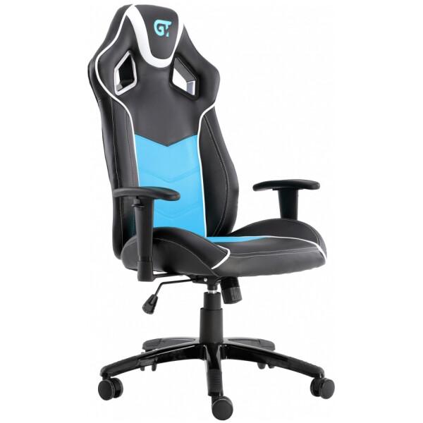 Купить Кресла, GT Racer X-2560 Black/White/Light Blue