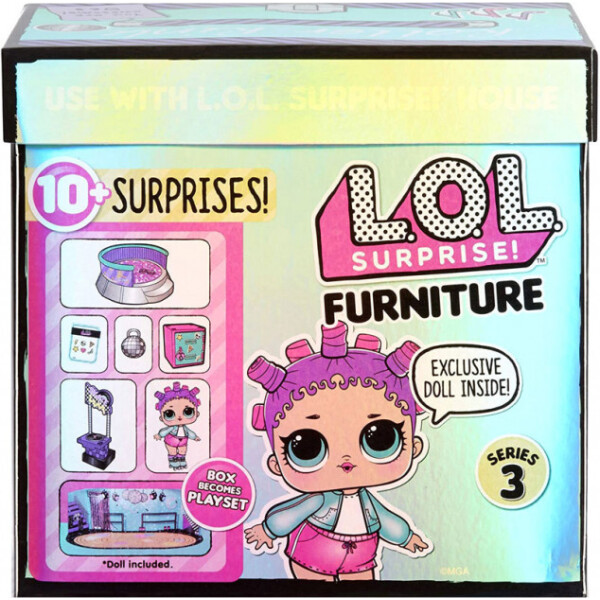 Купить Куклы, наборы для кукол, Игровой набор с куклой L.O.L. SURPRISE! серии Furniture S2 - РОЛЛЕРДРОМ РОЛЛЕР-ЛЕДИ (567103)