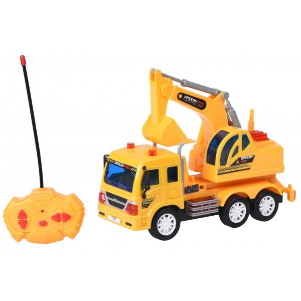 Купить Радиоуправляемые модели, Машинка на р/у Same Toy CITY Грузовик с ковшом (F1601Ut)