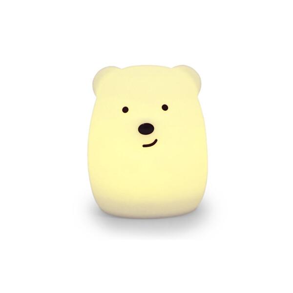 Купить Настольные лампы, Силиконовый детский Click Медведь 11 см (CLK-G01201)