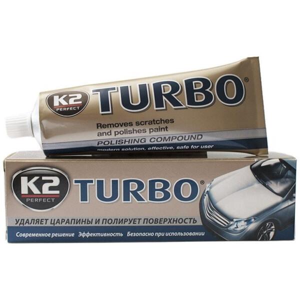 Купить Автокосметика, Восковая паста для полировки кузова K2 TEMPO 250g (K004)