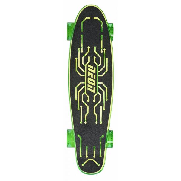 Купить Скейтборды, Скейтборд Neon Hype Green (N100789)