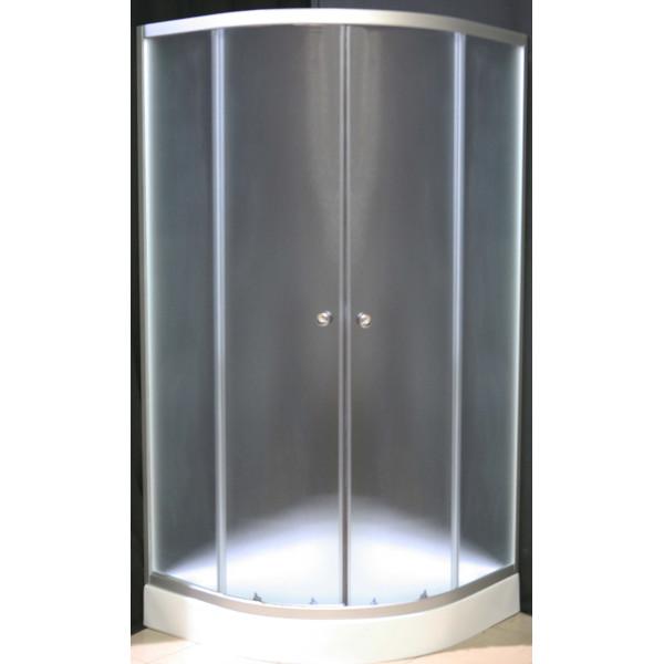 Купить Душевые кабины, Душевая кабина Sunlight 7122 100х100х190 см fabric матовый