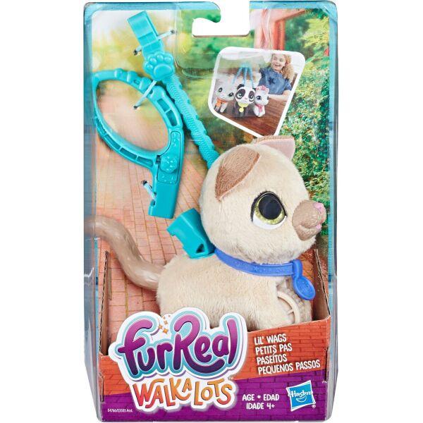 Интерактивная игрушка Hasbro FurReal Friends маленький питомец на поводке FurReal Walkalots Котенок (E3503_E4766)