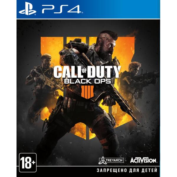 Купить Игры, Call of Duty: Black Ops 4 на BD-диске [PS4, Rus], Activision