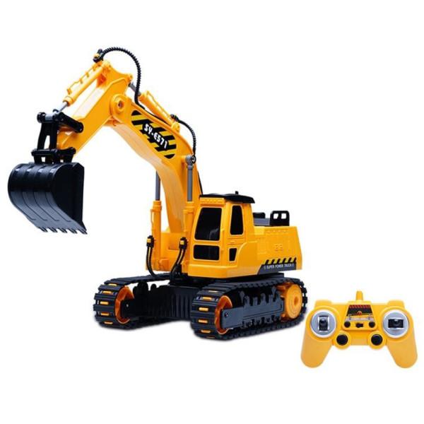 Купить Радиоуправляемые модели, Машинка на р/у 3 в 1 Same Toy Инженерный экскаватор (E571-003)